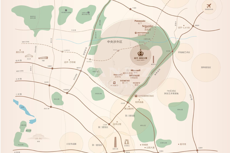 远洋万和公馆位置图