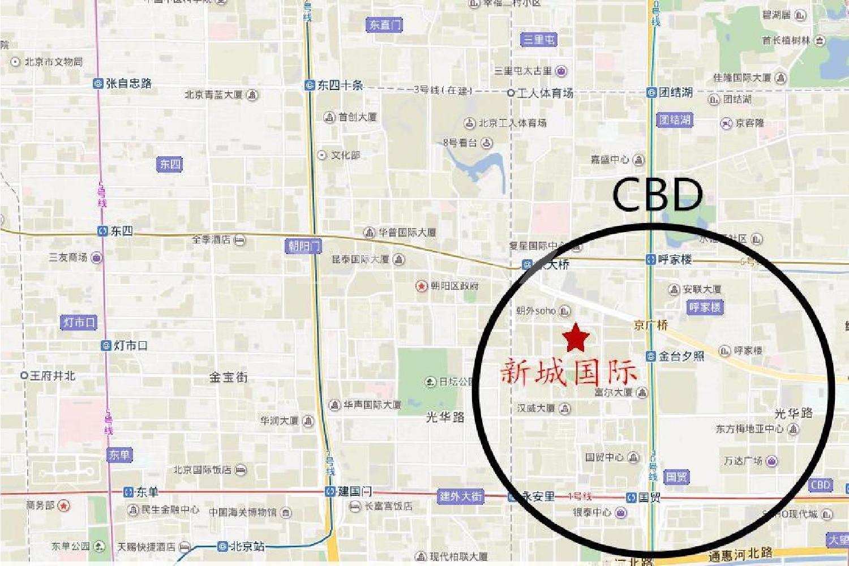 新城国际位置图