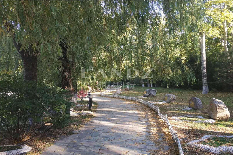 京润水上花园别墅实景图