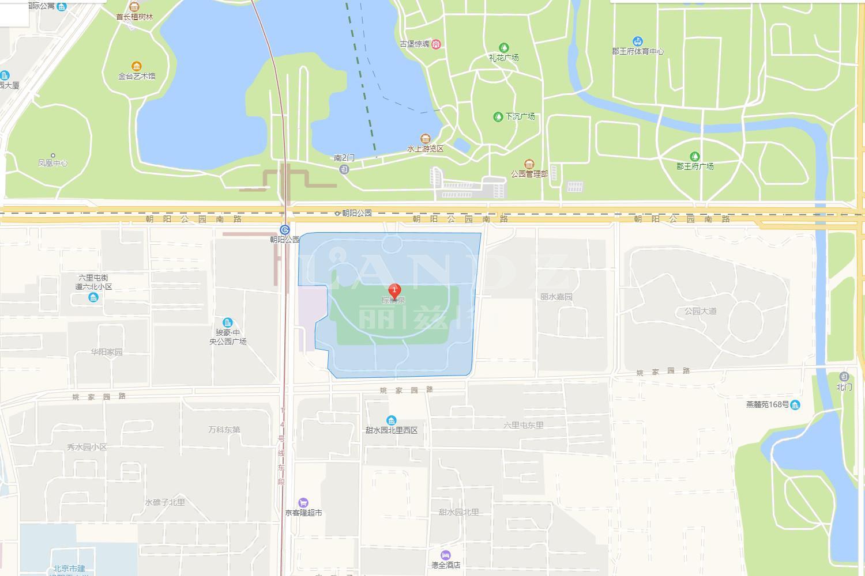 棕榈泉国际公寓位置图
