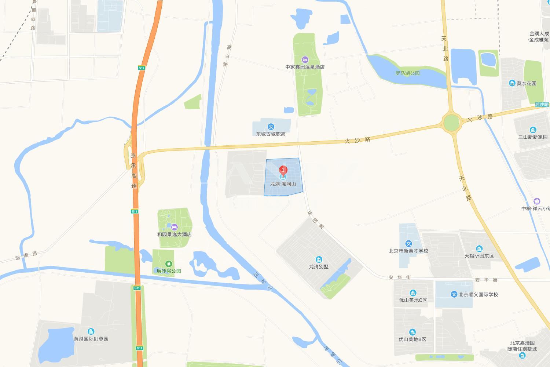 龙湖滟澜山位置图