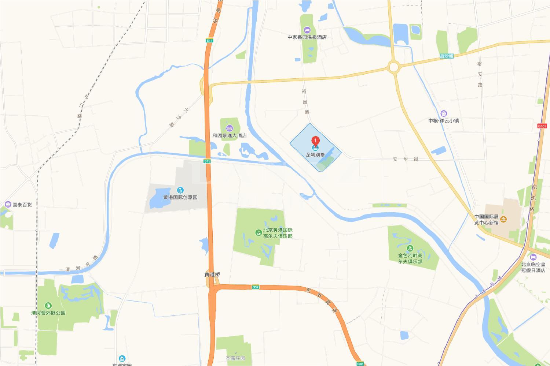 龙湾别墅位置图
