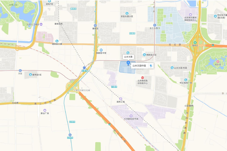 山水文园五期位置图