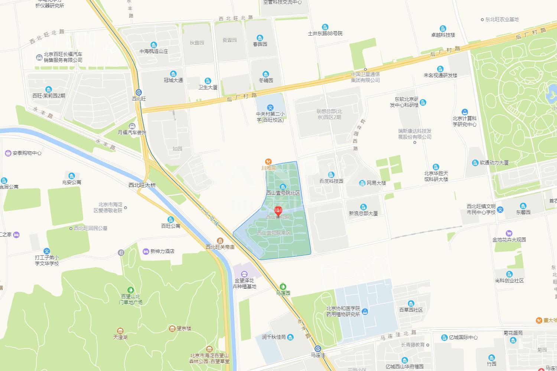 西山壹号院位置图