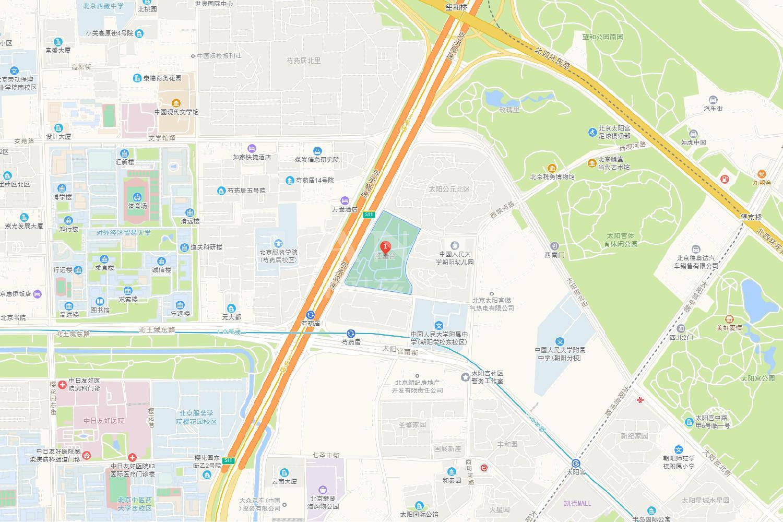 红玺台位置图