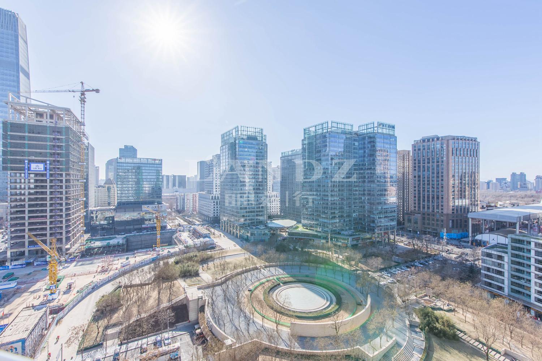 新城国际实景图