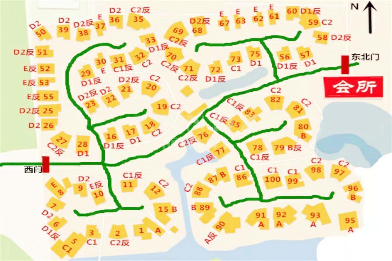 东山墅位置图