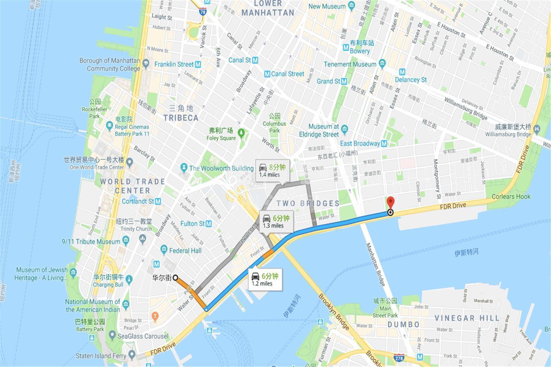 曼哈顿广场1号海外房产位置图