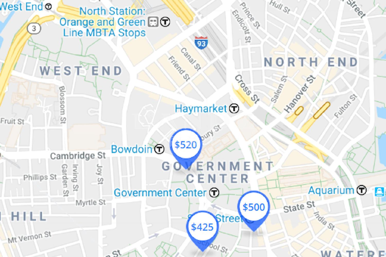 悦庭公寓海外房产位置图
